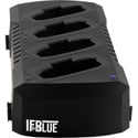 IFBlue CHSIFBR1C Four Receiver Battery Charging Station with Power Supply & Cable