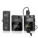 Comica Compact 2.4 GHz Wireless Microphone System with Lightning Interface for iOS Devices (2TX/MI RX) (Li-Ion Battery)