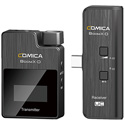 Comica BoomX-UC1 Compact 2.4 GHz Wireless Microphone System for Smartphones (TX/UC RX)