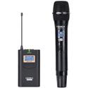 Comica CVM-WM100H Wireless UHF Handheld Microphone System 48-CH/328 Foot - Handheld TX & 1 RX