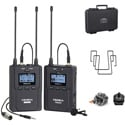 Comica UHF 96-CH - 393 Feet Wireless Microphone with 1 Transmitter & 1 Receiver