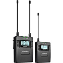 Comica CVM-WM300C UHF 96-Channels And 393 Foot  Working Distance Metal Wireless Microphone - 1 TX & 1 RX