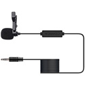 Comica CVMV01CP(6.0m) Omnidirectional TRS Lavalier Microphone for Cameras - 19.7 Feet