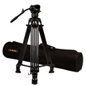 E-Image EG06A2 - 2 Stage Aluminum Tall Tripod with GH06 head