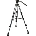 E-Image EK50AAM 2 Stage Aluminum Video Tripod Kit with 65mm Bowl & 13.2 Pounds Payload
