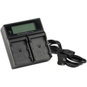 ikan ICH-KDUAL-900 Dual Charger for Canon 900 Style Batteries