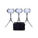 ikan ID508-V2-KIT Kit with 3x ID508-v2 LED Studio Light