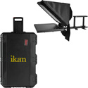 ikan PT3500TK 15 Inch Teleprompter with Rolling Hard Case Travel Kit