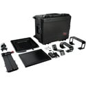 Photo of ikan PT4700-SDI-TK Professional 17 Inch High Bright Beam Teleprompter with 3G-SDI Travel Kit