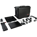 ikan PT4700-SDI-TK Professional 17 Inch High Bright Beam Teleprompter with 3G-SDI Travel Kit