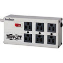 Tripp Lite ISOBAR6 6-Outlet 3300 Joules Surge Protector with Metal Housing &  Diagnostic LEDs -  6 Foot Right-Angle Plug