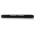 iStar WA-PP12-C6 12 Ports 1U Cat6 Patch Panel