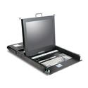 iStar WL-21708 1U Rackmount 17 Inch TFT LCD Keyboard Drawer 8 port KVM Switch