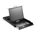 iStar WL-21716 1U Rackmount 17 Inch TFT LCD Keyboard Drawer 16 port KVM Switch