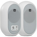 JBL 104SET-BTW-US Desktop Professional Reference monitors (pair) with Bluetooth (White)