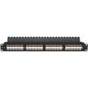Black Box JPM810A-HD 1U CAT5e Feed-Through Patch Panel - Unshielded 48-Port