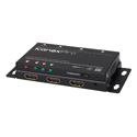 KanexPro SP-1X2SL18G UltraSlim 4K/60 1x2 HDMI Splitter with Downscaling to HD 1080p/60