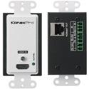 KanexPro WP-EXTHDBTX1 HDMI 2.0 HDBaseT Wall Plate with IR & POC