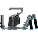 Kondor Blue KB-BMPCC6KP-Urig Blackmagic Pocket 6K Pro Ultimate Rig - Space Gray