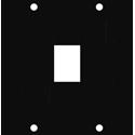 Middle Atlantic KEY 1 UCP Module for 1 Keystone Insert Bezel