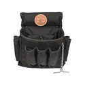 Klein Tools 5719 PowerLine Series 18-Pocket Electrician Tool Pouch