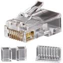 Klein Tools VDV826-603 Modular RJ45-CAT6 Data Plugs - 25 Pack