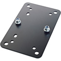 K&M 24354-000-55 Adapter Panel 2 - Black