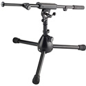 K&M 25950 Extra Low Microphone Stand - Black