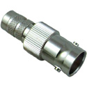 Kings 206G-034-00002N DIN-Plug/BNC-Jack Inline Adapter- Nickel