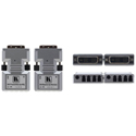 Kramer 610 Detachable DVI Optical Transmitter and Receiver Set