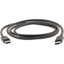 Kramer C-DP-3 DisplayPort 1.2 Cable with Latches - 3 Foot