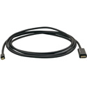 Kramer C-MDP/HM/UHD-3 Mini DisplayPort (M) to HDMI (M) Active Cable 3 Feet