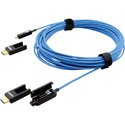 Kramer CP-AOCH/XL-33 4K/UHD Plenum HDMI Active Optical Cable with Detachable HDMI Heads & Pulling Capsule - 33 Foot