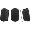 Kramer Galil 6-AW 6.5 Inch 2-Way On-Wall Outdoor Speakers - Black Pair