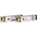 Kramer OSP-SM10S Optical SFPplus Transceiver Pair over 10G 1270/1330nm w/ LC Simplex Singlemode Fiber Connection