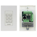 Kramer RC-306 6-button PoE and I/O Control Keypad