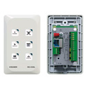 Kramer RC-43SL 6-Button Touch-Sensitive Ethernet Control Keypad (US)