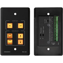 Kramer RC-62 6-Button Room Controller with Printed Group Labels - Black