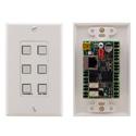 Kramer Control RC-76R 6-button Ethernet and KNETControl Keypad