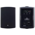 Kramer TAVOR 6-O 6.5 Inch On Wall 2 Way Powered Speakers - Pair Black