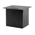 Kramer TBUS-3XL Table Mount Modular Multi-Connection Solution - Tilt-Up Lid - Black