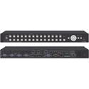 Kramer VP-733 12-input ProScale Presentation Matrix Switcher/4K30 UHD Scaler with Preview & Program Outputs