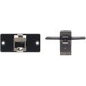 Kramer (W-45 (B) RJ-45 - Ethernet Wall Plate Insert - Black