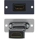Kramer W-H(G) HDMI Wall Plate Insert - Gray