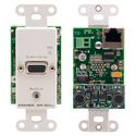 Kramer WP-301XL Active Wall Plate - VGA & Stereo Audio Transmitter w/ Enh. EDID