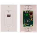 Kramer WP-572 Active Wall Plate - HDMI over Twisted Pair Receiver - White