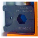 Kings KTH-2010 Crimp Die for Belden 8281 and Standard RG6 Type