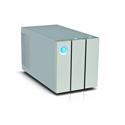 LaCie STEY16000401 16TB 2big Dock Drive Thunderbolt 2 RAID Storage