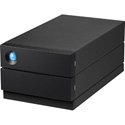 LaCie STHJ16000800 2 Big Raid - 2-Bay Desktop USB-C RAID Storage - 16 TB