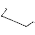 Middle Atlantic LBP-6A L Shaped Lacing Bar with 6 Inch Offset - 10 Pack